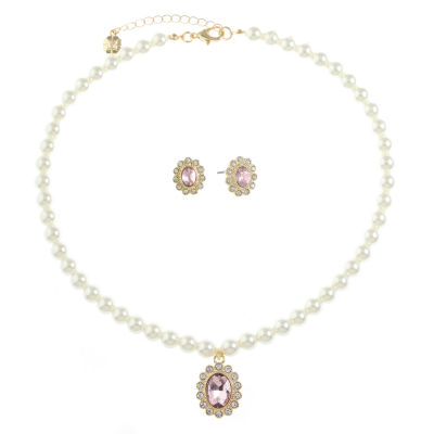 Monet Jewelry Womens 2-pack Jewelry Set