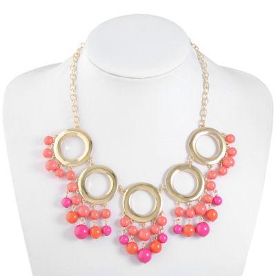 Liz Claiborne Pink Statement Necklace