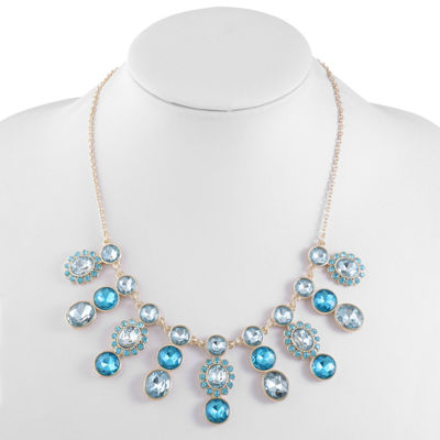 Monet Jewelry Womens Statement Necklace