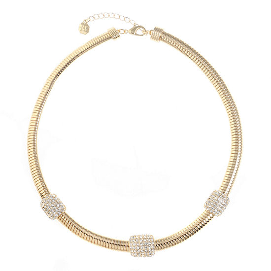 Monet Jewelry 17 Inch Omega Collar Necklace