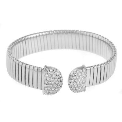 Monet Jewelry Womens Clear Cuff Bracelet