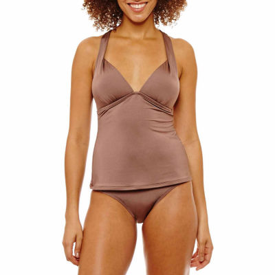 a.n.a Solid Tankini Swimsuit Top