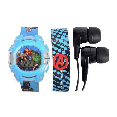 Avengers Unisex Multicolor Strap Watch - Avg40006jc