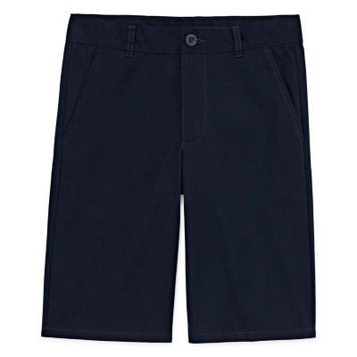 Izod Exclusive Boys Stretch Adjustable Waist Chino Short Little Kid / Big Kid