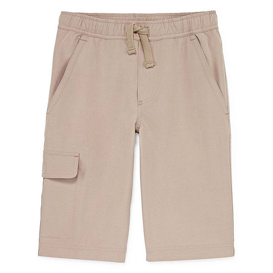 Izod Exclusive Boys Drawstring Waist Jogger Short