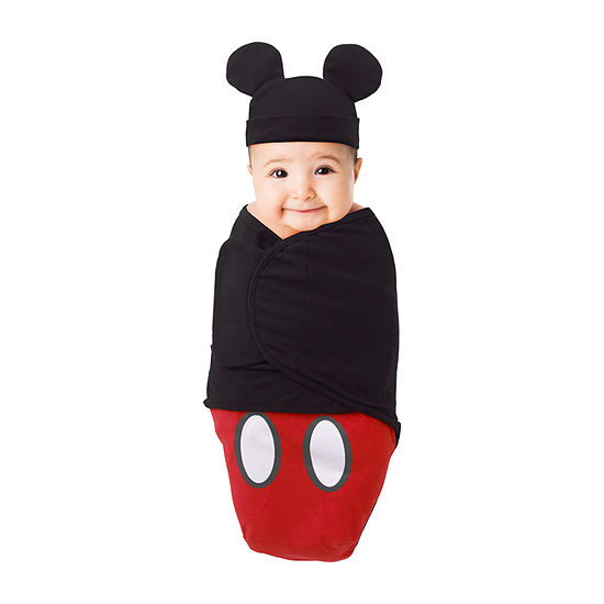 Disney Mickey And Minnie Exploration Mickey Mouse Swaddle Blanket