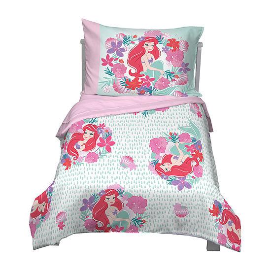 Disney Little Mermaid 4-pc. Disney Princess Toddler Bedding Set