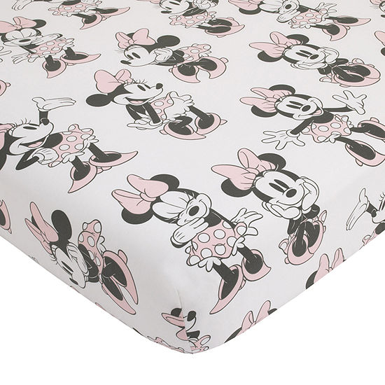 Disney Mickey And Minnie Exploration Minnie Mouse Crib Sheet
