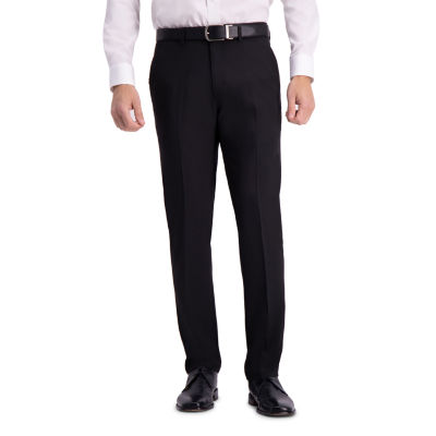 Haggar Active Series Straight Fit Flat Front Dress Pant