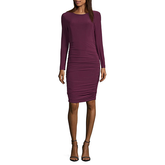 Spense Long Sleeve Sheath Dress