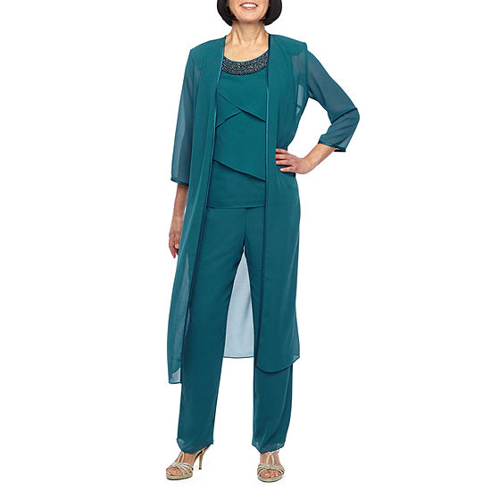 Maya Brooke 3-pc. Pant Set