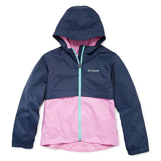 Columbia Sportswear Co. Water Resistant Lightweight Jacket Preschool / Big Kid Girls