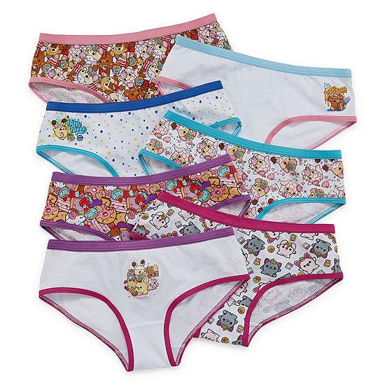 Girls 7 Pair Hipster Panty Preschool
