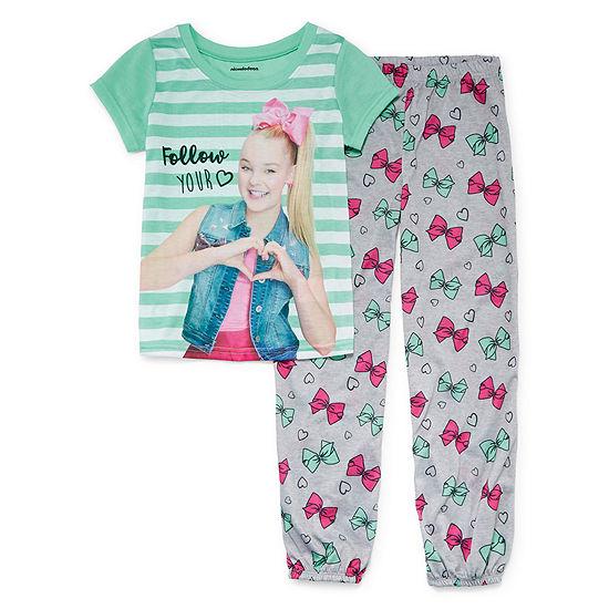 JoJo 2pc. Pant Pajama Set - Girls