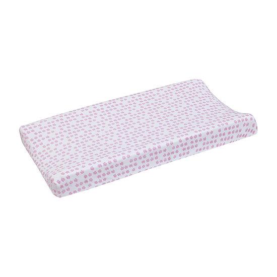 Dwell Studio Fawn Floral Crib Pad