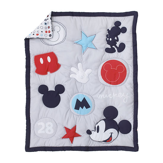 Disney 3-pc. Mickey Mouse Crib Bedding Set