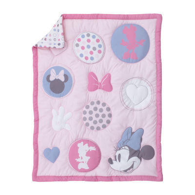 Disney 3-pc. Minnie Mouse Crib Bedding Set