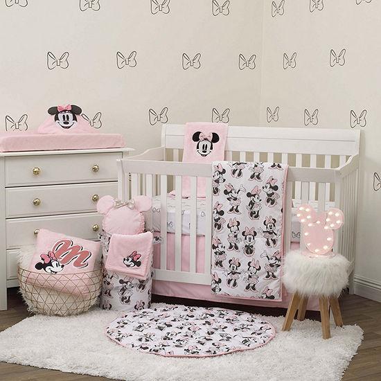Disney 6-pc. Minnie Mouse Crib Bedding Set