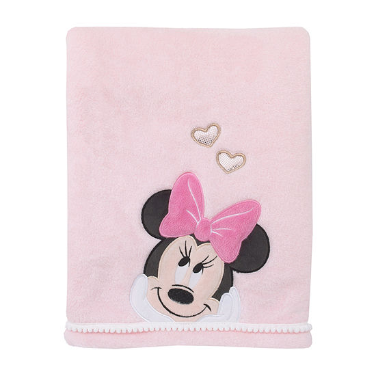Disney Minnie Mouse Baby Blankets