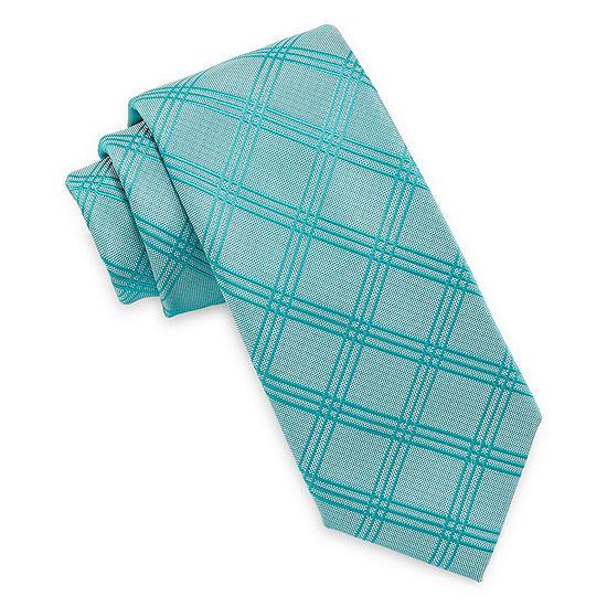 Love Jayne Plaid Tie