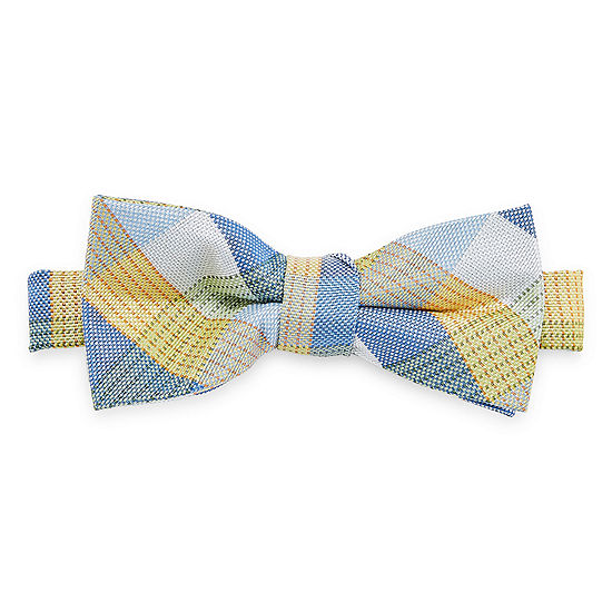 Van Heusen Boys Pretied Plaid Bow Tie