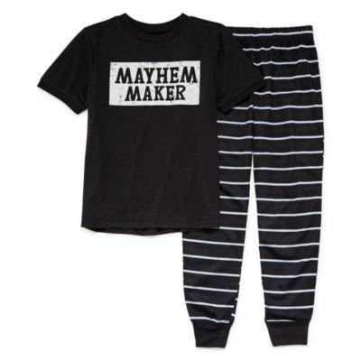 City Streets 2-pc. Pajama Set Preschool / Big Kid Unisex