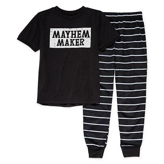 City Streets Unisex 2-pc. Pajama Set Preschool / Big Kid