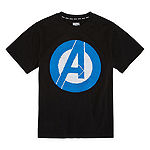 Flip Sequin Boys Crew Neck Short Sleeve Avengers Graphic T-Shirt - Preschool / Big Kid