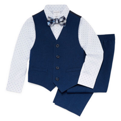 Van Heusen 4-pc. Suit Set Toddler Boys