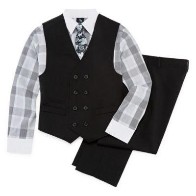 Steve Harvey 4-pc. Suit Set Preschool / Big Kid Boys