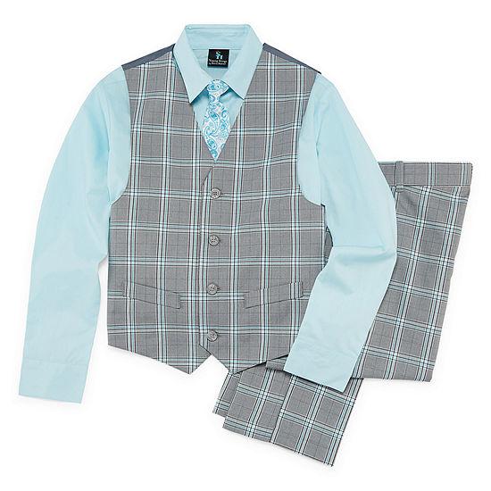 7306cdd4920 Steve Harvey 4-pc. Suit Set Preschool / Big Kid Boys - JCPenney