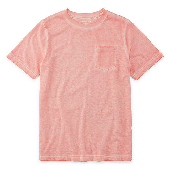 Peyton & Parker Boys Crew Neck Short Sleeve T-Shirt Preschool / Big Kid