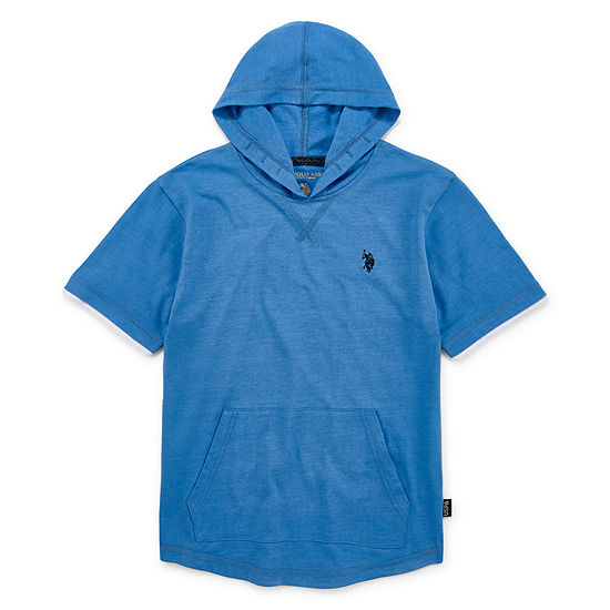 U.S. Polo Assn. Boys Embroidered Hoodie - Preschool / Big Kid