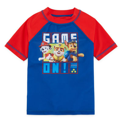 Boys Paw Patrol Rash Guard