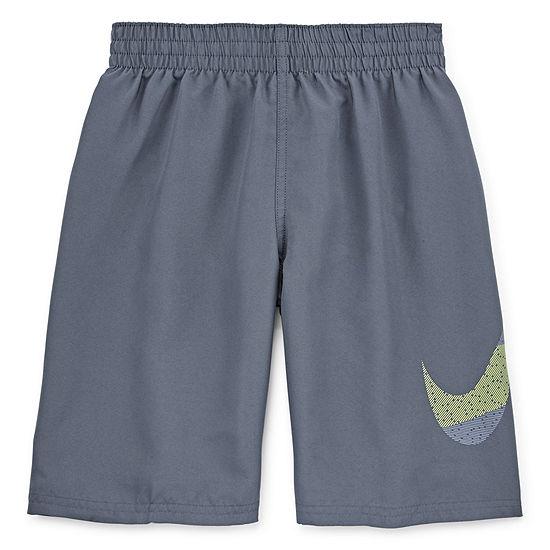 Nike-Big Kid Boys Logo Swim Trunks