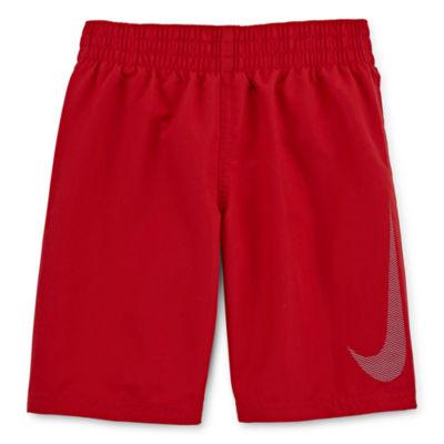 Nike Boys Logo Swim Trunks-Preschool