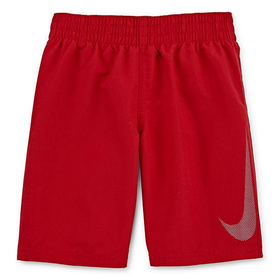 Nike Boys Logo Swim Trunks-Little Kid
