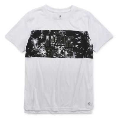 Xersion Boys Crew Neck Short Sleeve T-Shirt