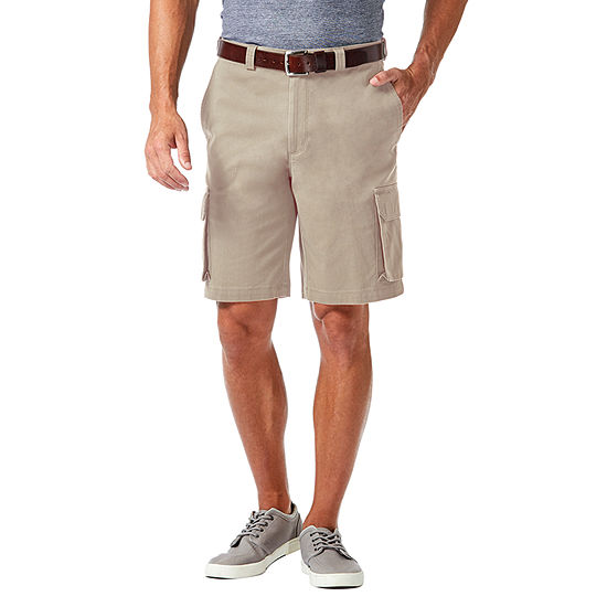 Haggar Stretch Cargo Short With Tech Pocket