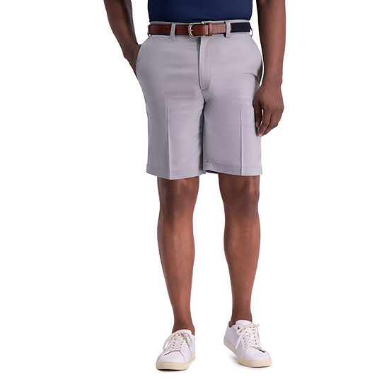 Haggar® Cool 18® Pro Stretch Oxford Straight Fit Flat Front Short