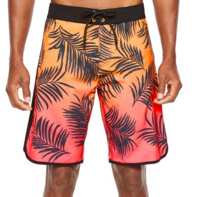 Burnside Leaf Board Shorts