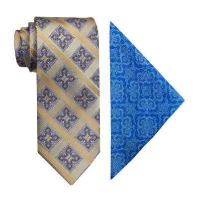Steve Harvey Stripe Tie Set