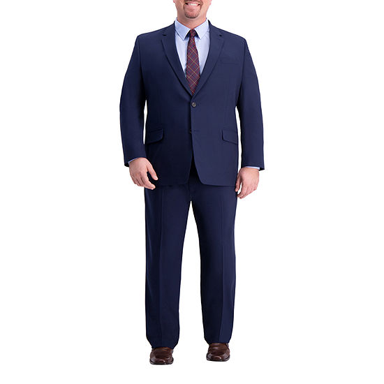 J.M. Haggar 4-Way Stretch Classic Fit Suit Separate Jacket – Big and Tall