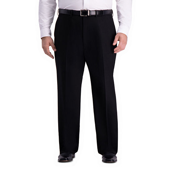 J.M. Haggar 4-Way Stretch Classic Fit Suit Pants – Big and Tall