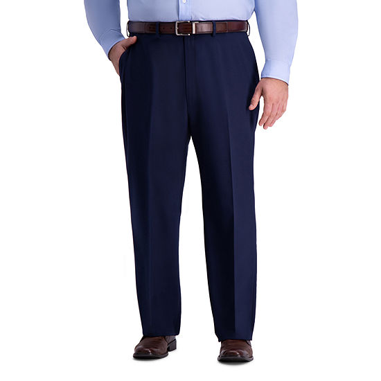 Haggar Mens Stretch Classic Fit Suit Pants - Big and Tall