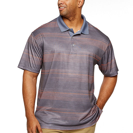 PGA TOUR Mens Short Sleeve Polo Shirt Big and Tall