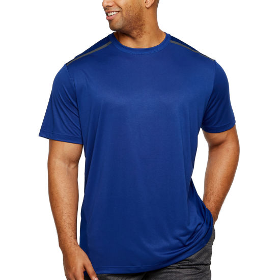 Msx By Michael Strahan Mens Crew Neck Short Sleeve T-Shirt-Big and Tall