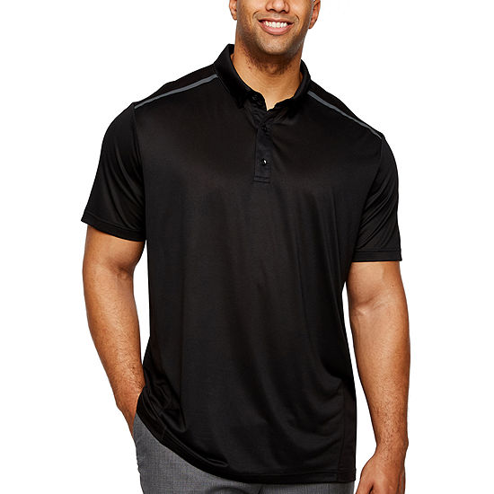 24254dbd Msx By Michael Strahan Mens Short Sleeve Polo Shirt Big and Tall - JCPenney