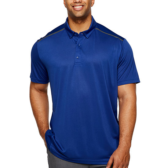 Msx By Michael Strahan Big and Tall Mens Short Sleeve Polo Shirt