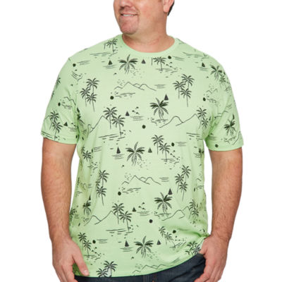 The Foundry Big & Tall Supply Co. Mens Crew Neck Short Sleeve Graphic T-Shirt-Big and Tall